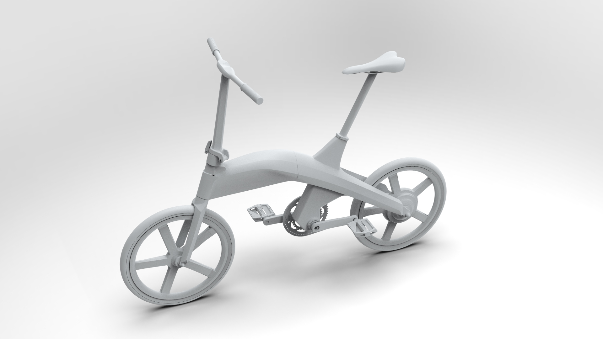 velo pliant electrique prototype design by fonction design